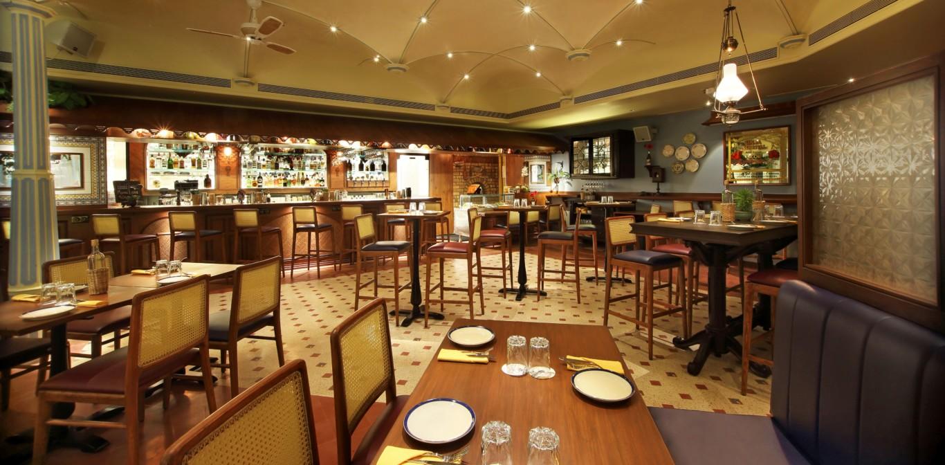 O pedro serves authentic goan cuisine and decor in mumbai