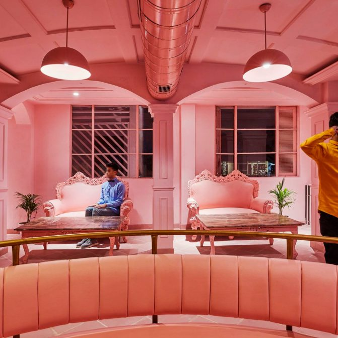 The Pink Zebra, Kanpur, by Renesa Architects