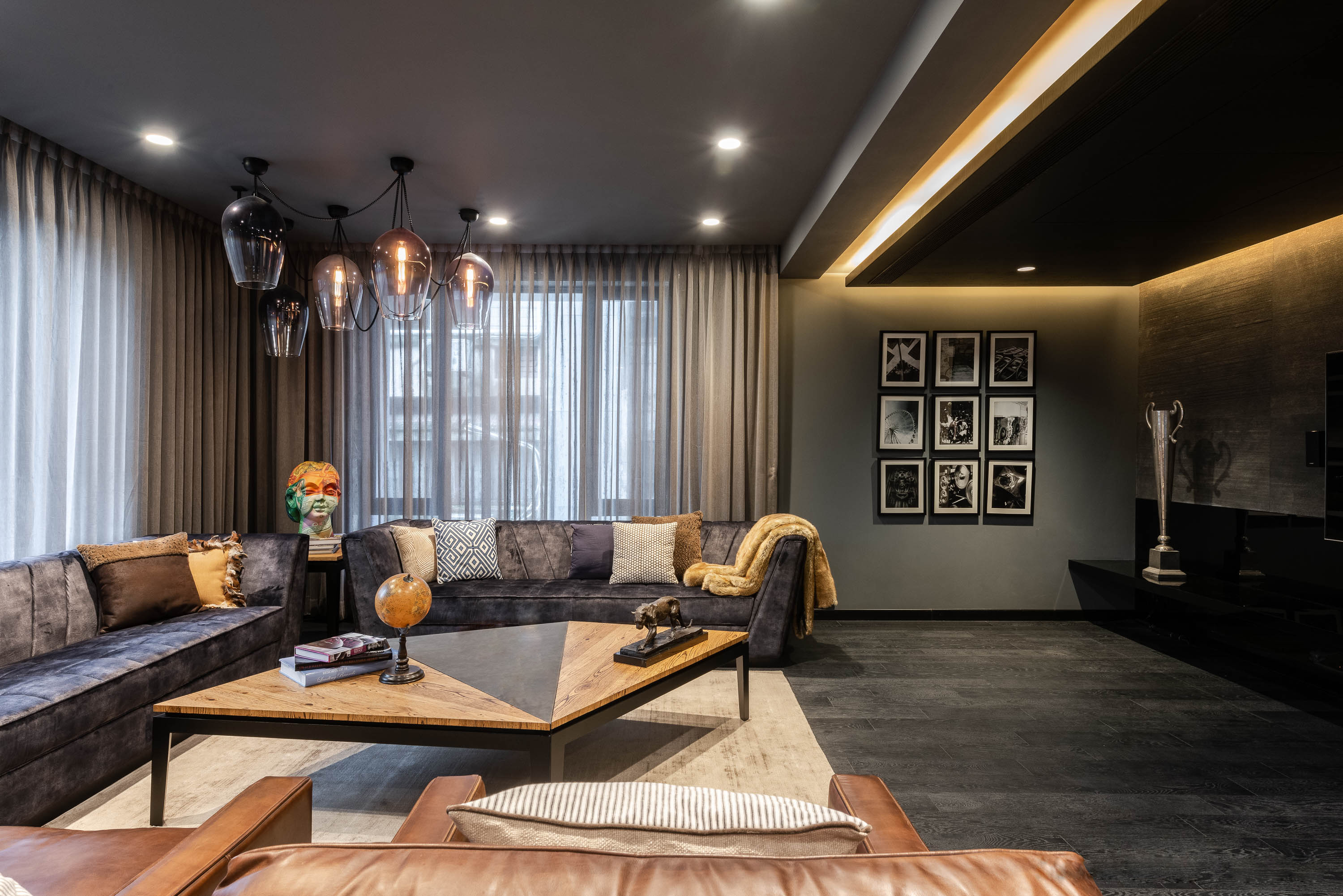 The Duplex at Queens Park by A Square Designs