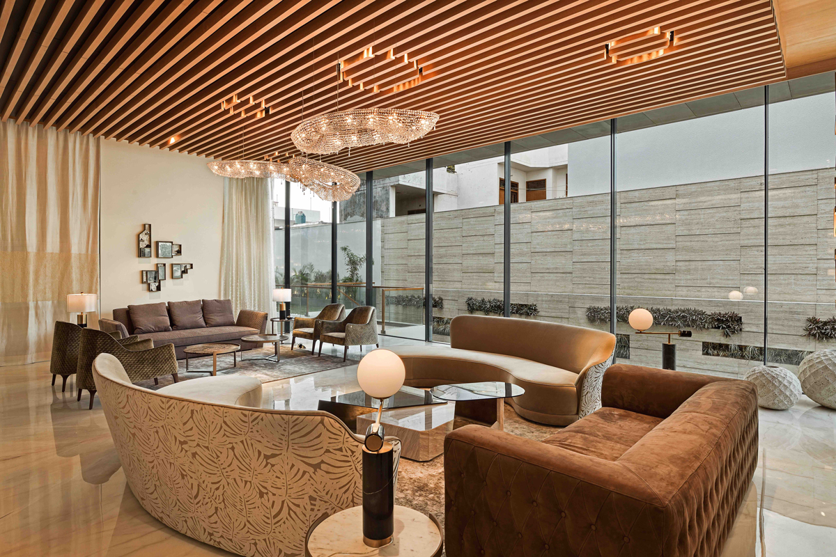 Aashirwad Residence by 42mm Architecture