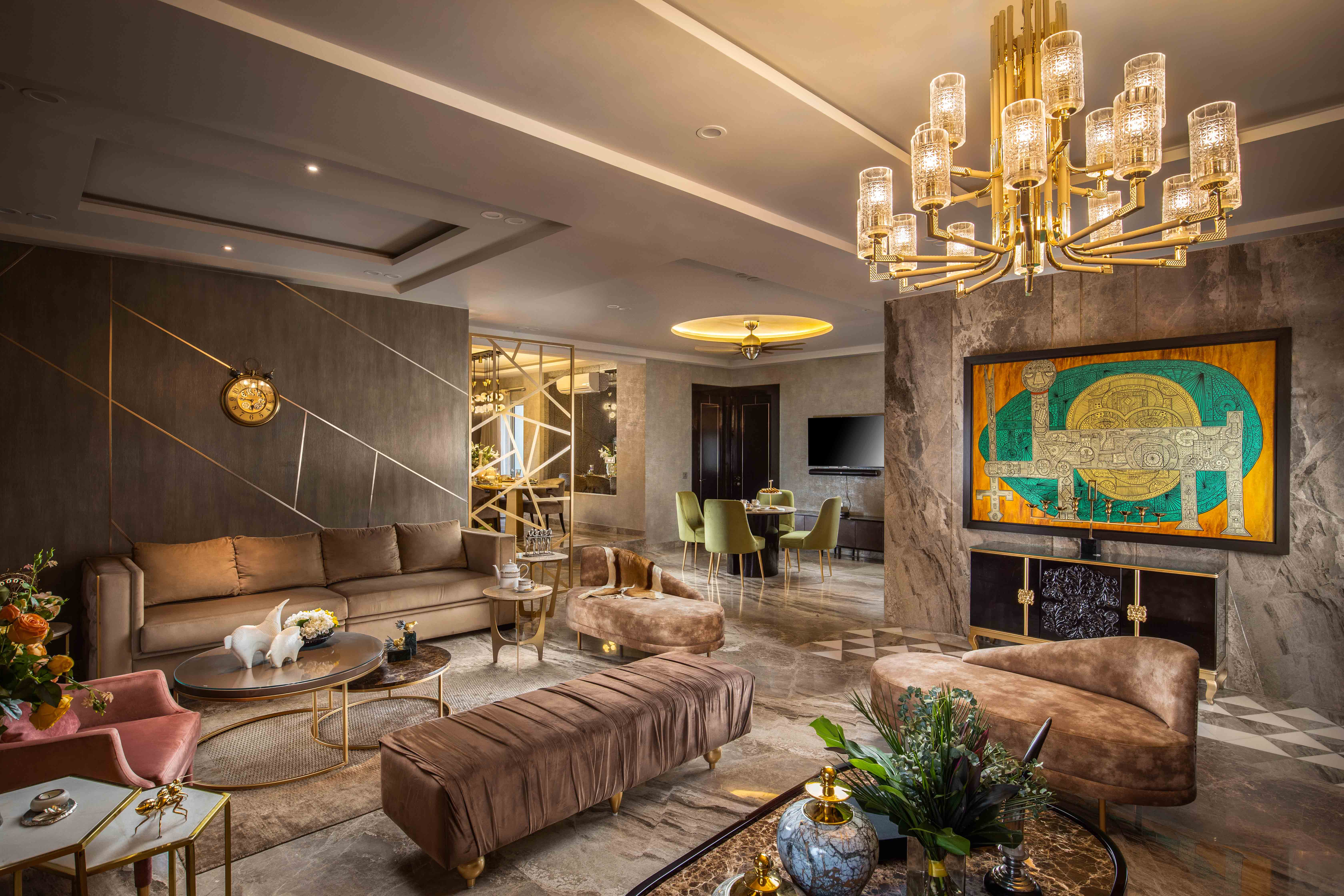 Meenu Agarwal of MADS Creations crafts an ornate abode at DLF Capital Greens