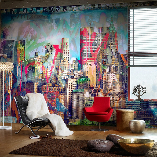 From The Streets To Living Spaces, How Graffiti Art Entered The World Of Interior  Design