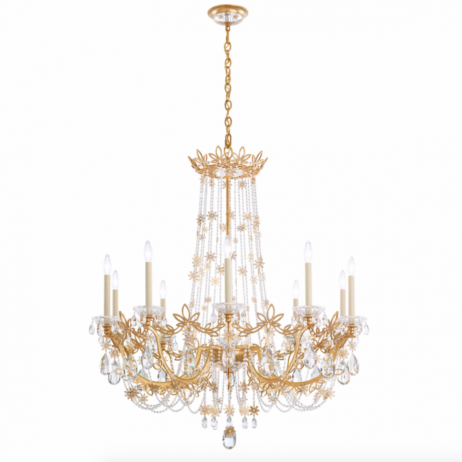 Crystal Chandelier Grades: Seven Stunning Pieces From Swarovski's Lighting Collection