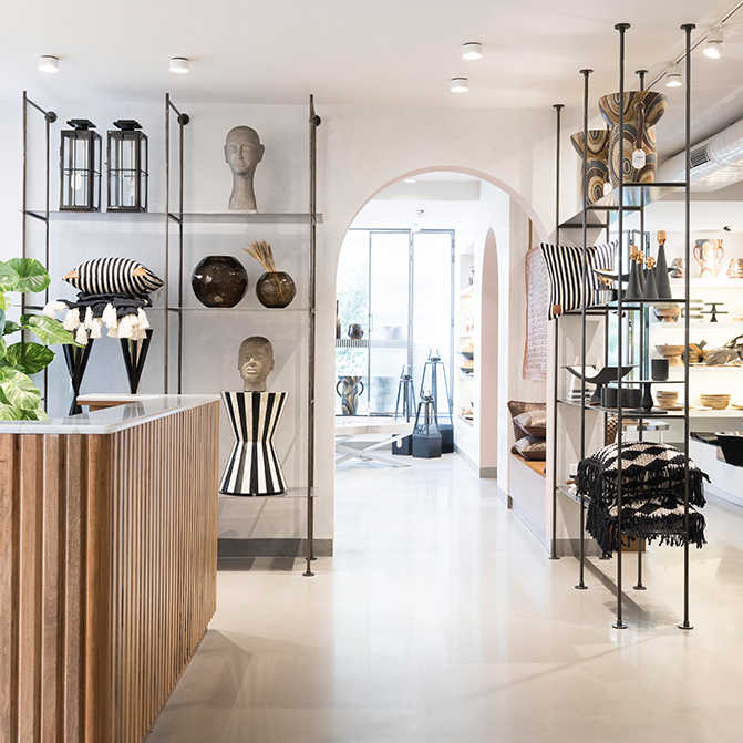 Artisan Lab by Project 810: leisurely browsing is the mandate at this minimalist concept store