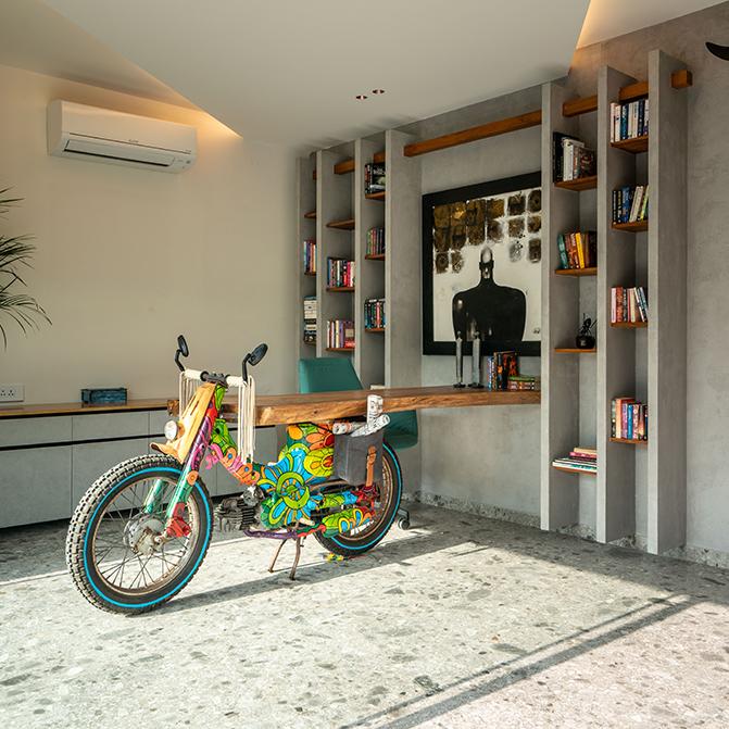 Villa 81 by Aamir Hameeda Design Studio is an urban chic masterpiece