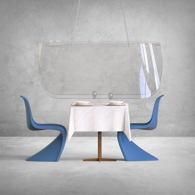 Plex'Eat by Christophe Gernigon Studio is a paragon of minimalist and contextual design amid a global crisis