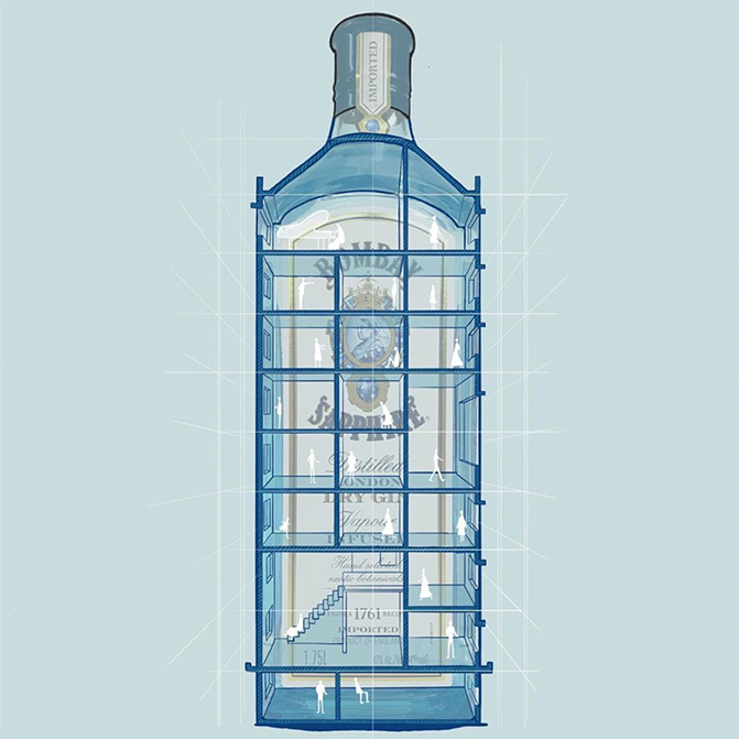 Bombay Sapphire's Stir Creativity campaign aims to reinvigorate creativity and facilitate positivity amidst trying times