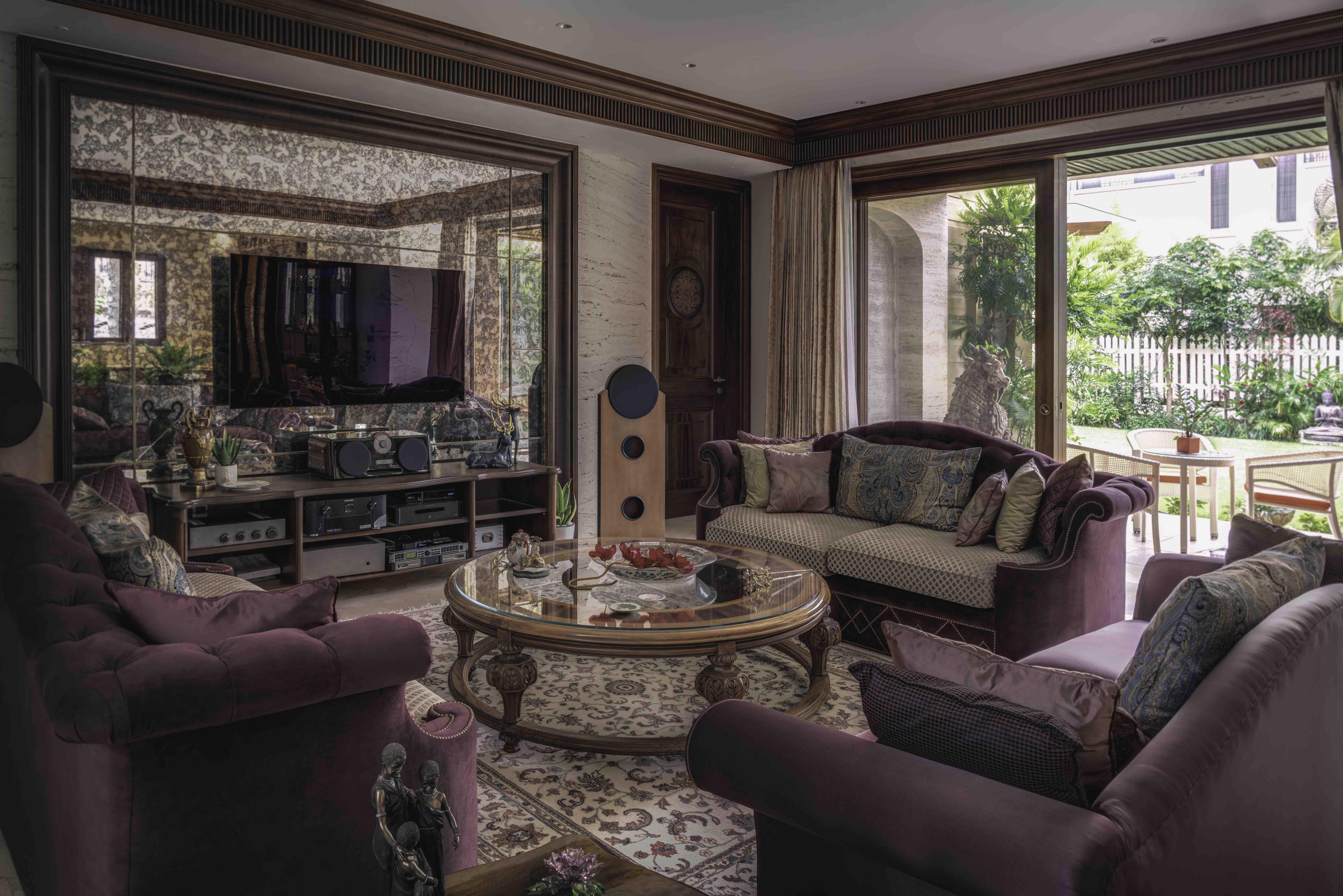 Adarsh Palm Residence by Shernavaz Interiors